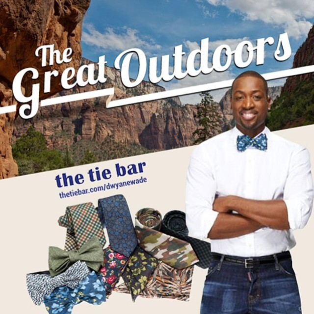 Dwyane Wade & The Tie Bar Launch 'The Great Outdoors' Collection