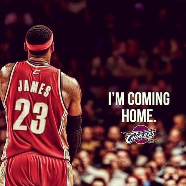Lebron James 'I'm Coming Back To Cleveland'