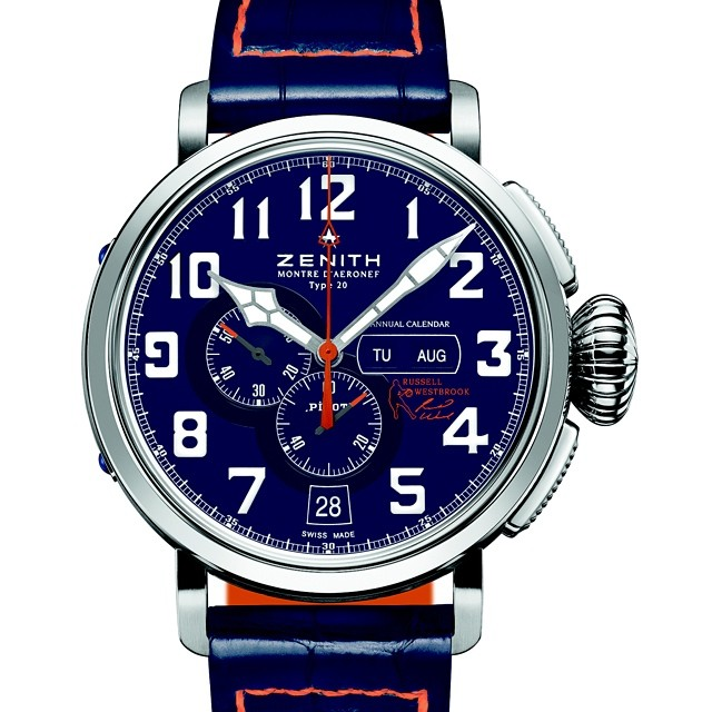 Russell Westbrook Debuts Zenith Limited-Edition Signature Watch