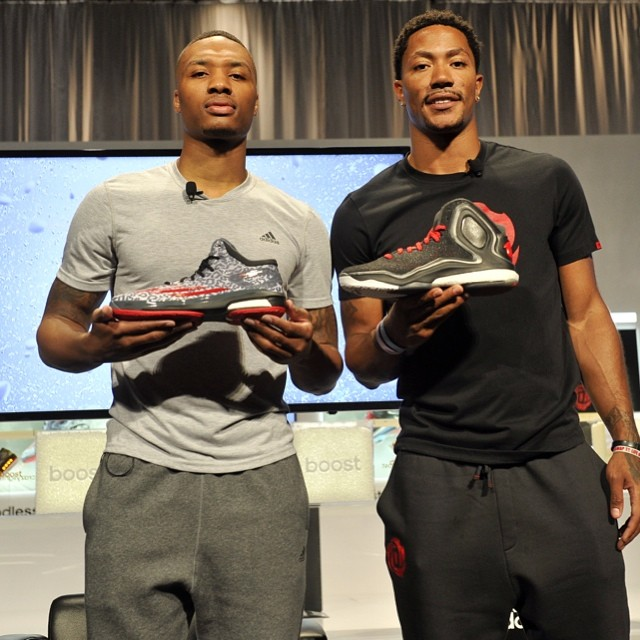 VIDEO: NBA Derrick Rose & Damian Lillard Introduce Adidas 'Boost' Technology