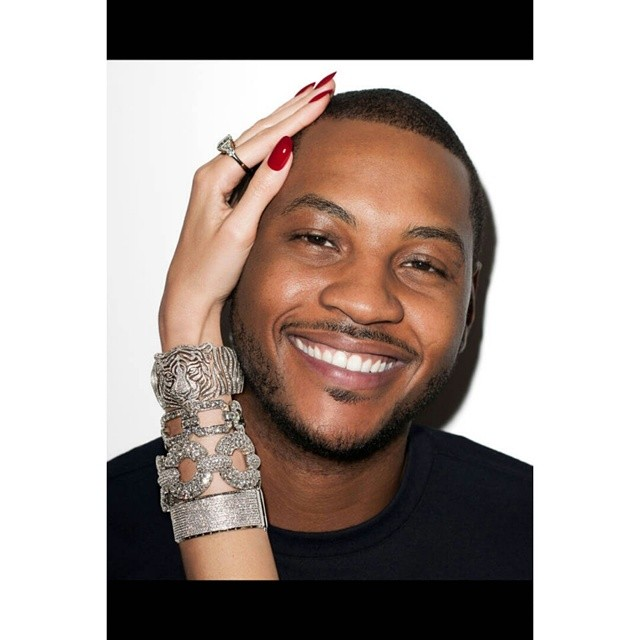 STYLE: Carmelo Anthony For Harpers Bazaar Magazine