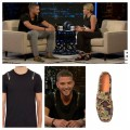 Chandler-Parsons-Chelsea-Lately-Alexander-McQueen-zipper-shirt-del-toro-camo-driver-shoes