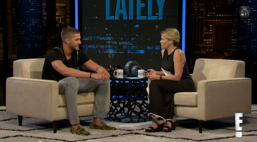 Chandler-Parsons-visits-Chelsea-Lately-1