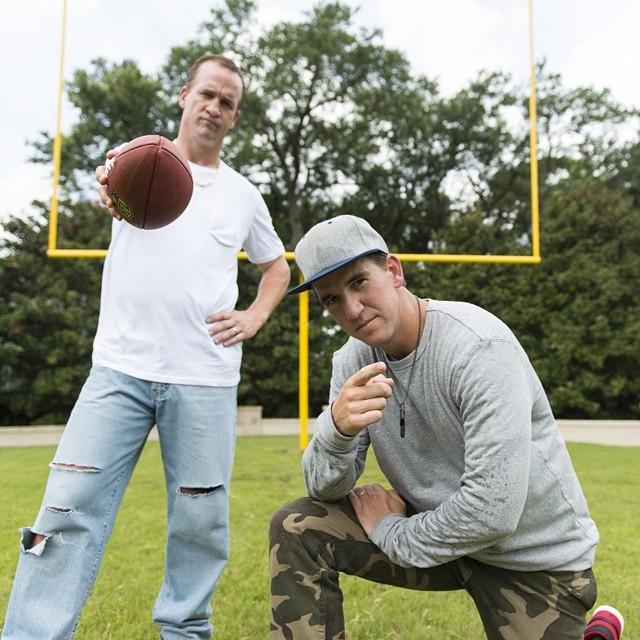 VIDEO: Peyton, Eli Manning Rap In DirecTV's Fantasy Football Fantasy Commercial