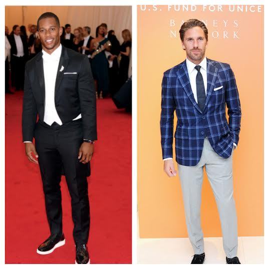 STYLE: Victor Cruz and Henrik Lundqvist Named To Vanity Fair's International Best-Dressed List 2014