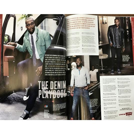 STYLE: NFL Star Anquan Boldin Wears Levi's 541 'Athletic Fit' Jeans For $47