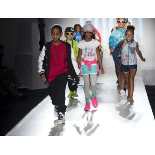 Children Of Pro Athletes Star In New York Fashion Week's Kids Rock! Show