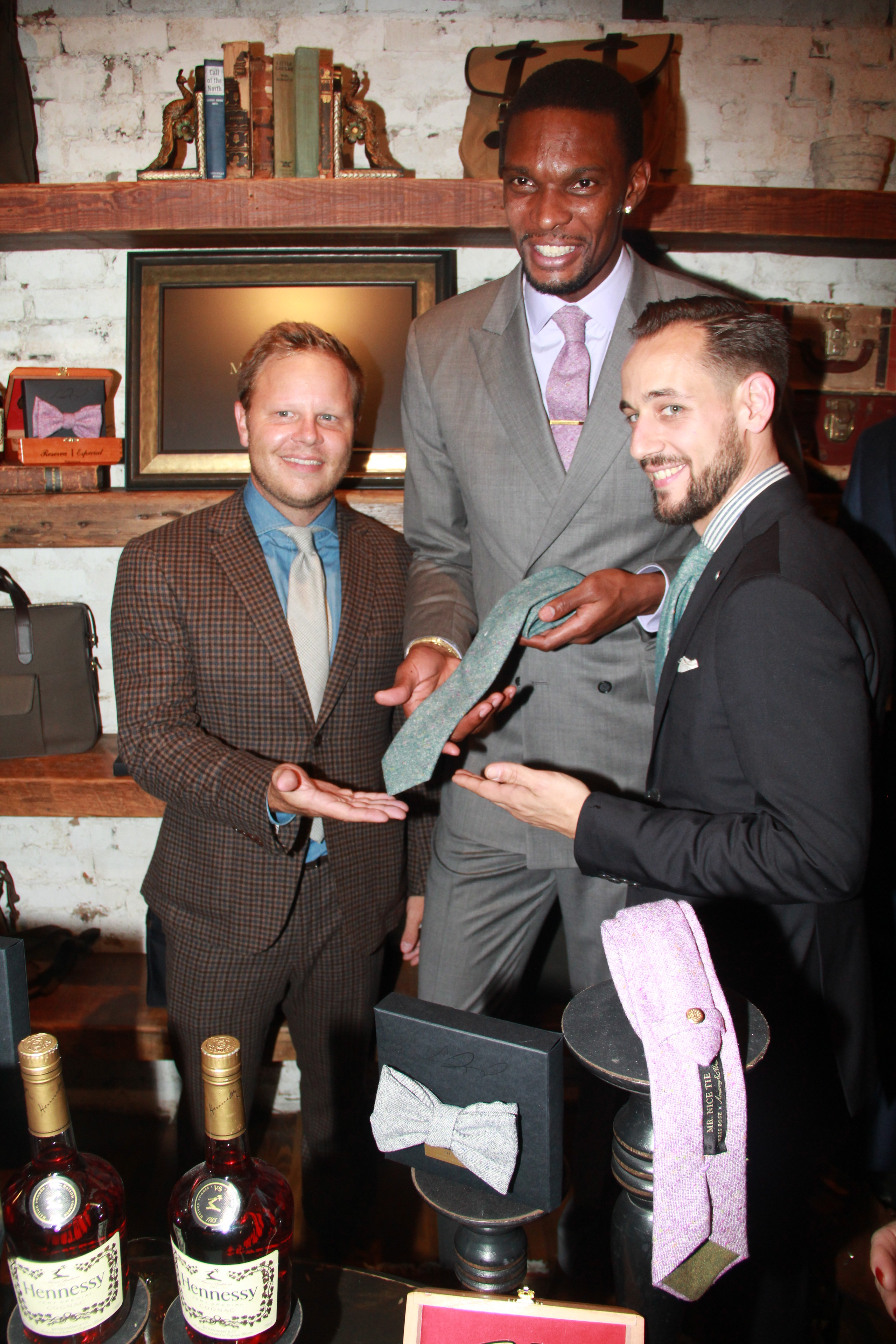 Chris-Bosh-Mr-Nice-tie-new-york-fashion-week-debut-armstrong-and-wilson-2