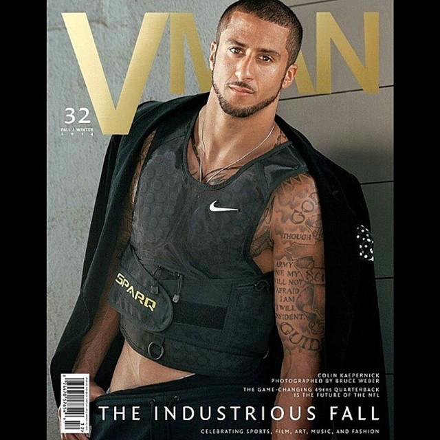 STYLE: NFL Colin Kaepernick For VMAN Magazine