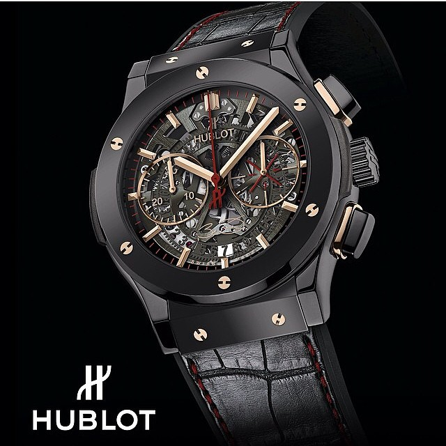 "STYLE: Dwyane Wade & Hublot Launch ""The Classic Fusion Dwyane Wade"" Watch"