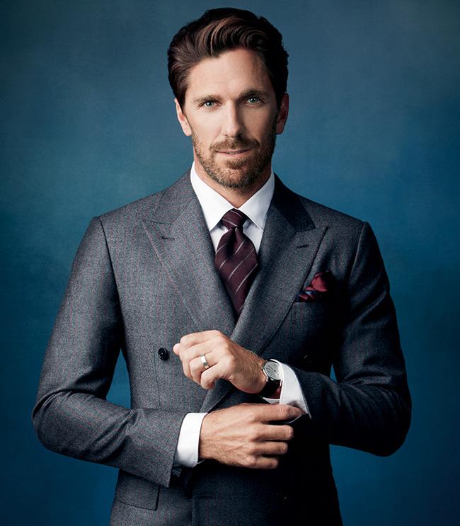 Style Nhl Henrik Lundqvist Covers Gotham Magazine Talks Fashion