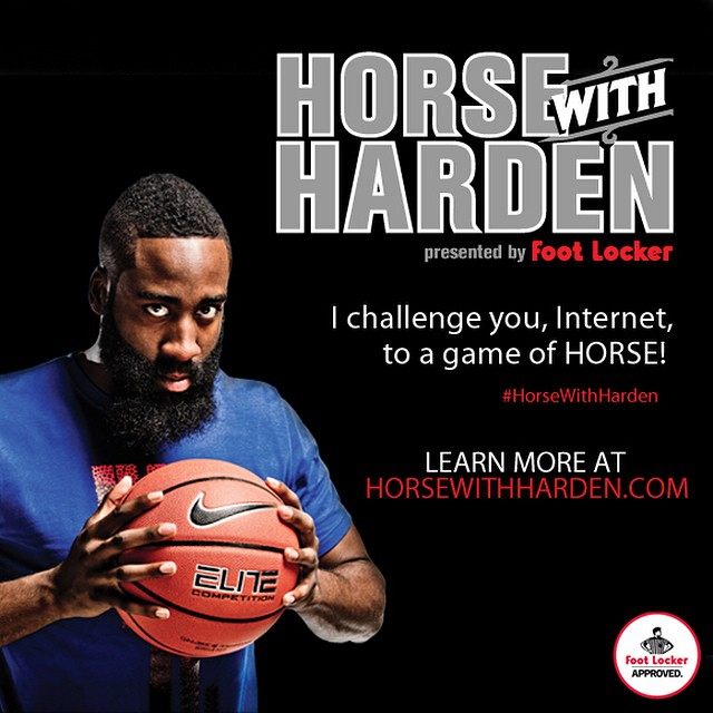 NBA Star James Harden Challenges You In A Game Of HORSE