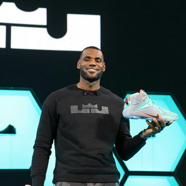 bd21f200c505 STYLE  Lebron James Introduces His Nike Lebron 12 Sneakers