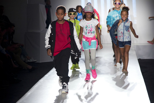 Children Of Pro Athletes Star In New York Fashion Week 39 S