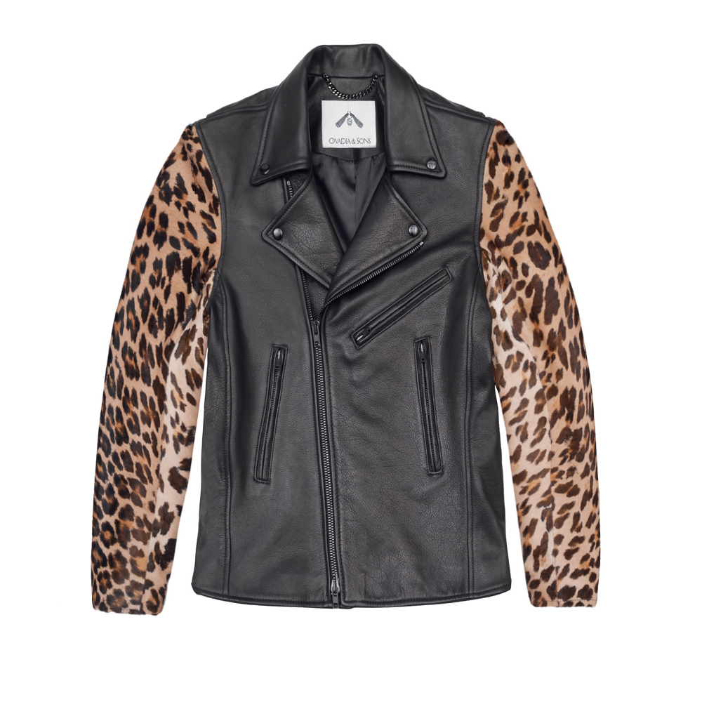 Ovadia-and-sons-Leather-And-Leopard-Motorcycle-Nelson-Jacket