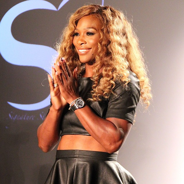 Serena Williams Debuts Her HSN Signature Statement Collection For NYFW