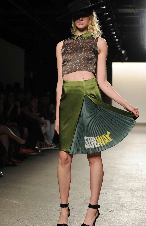 Fashion Week Project Subway