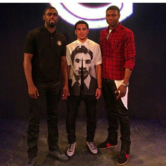 Tim-Hardaway-shane-Larkin-Cleanthony-Early-NYFW-2014