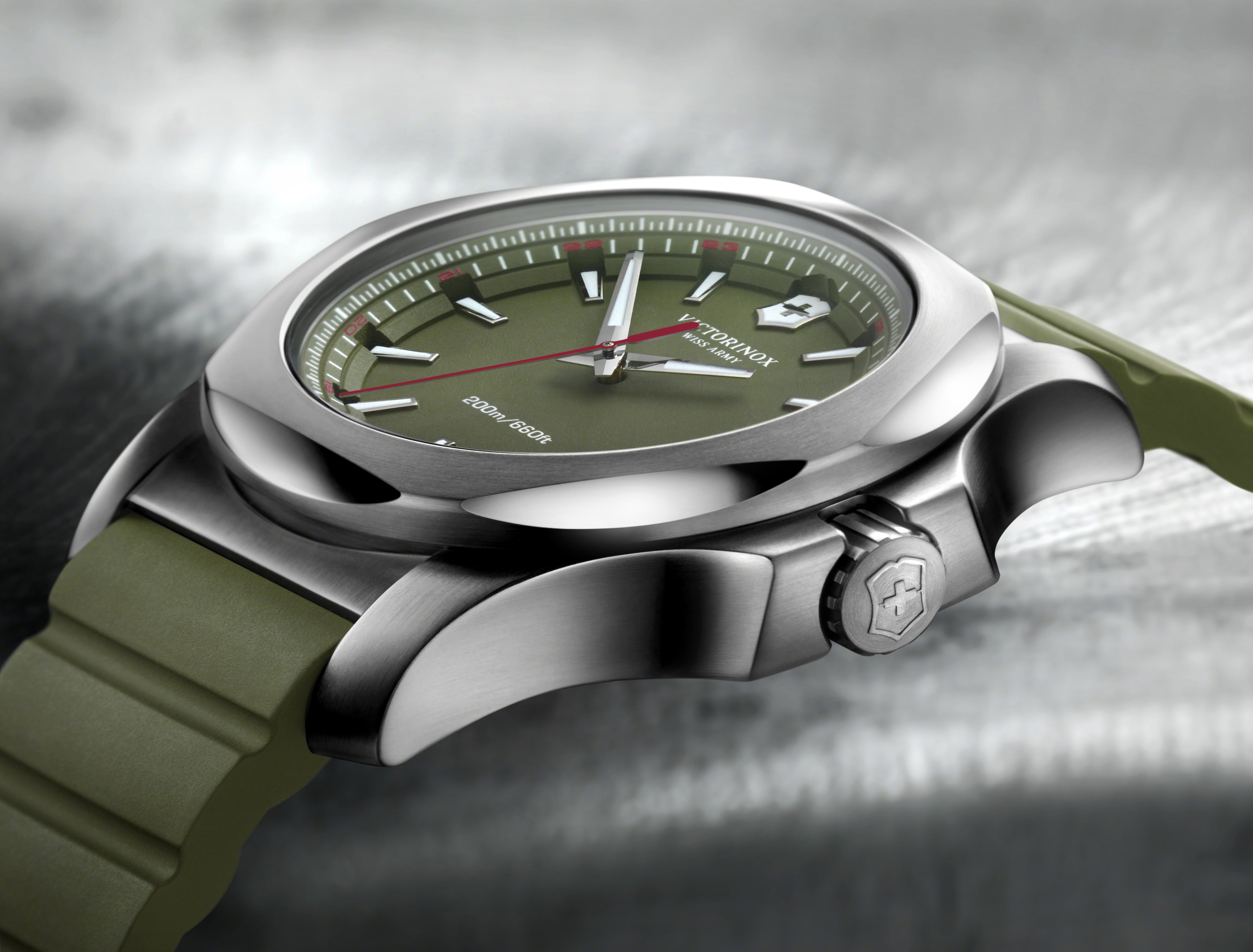 Victorinox-inox-watch-green