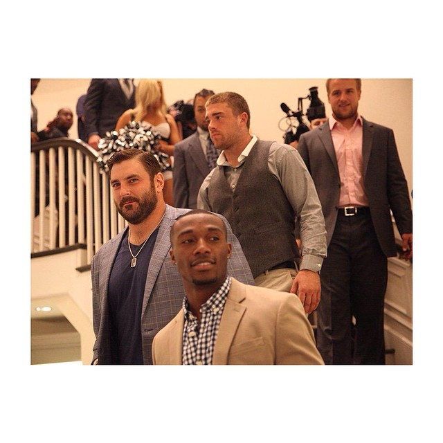 NFL Brad Smith & Philadelpia Eagles Debut The Style Games At Saks Fifth Avenue