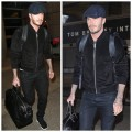 David-Beckham-saint-laurent-black-suede-bomber-jacket-MTS-1