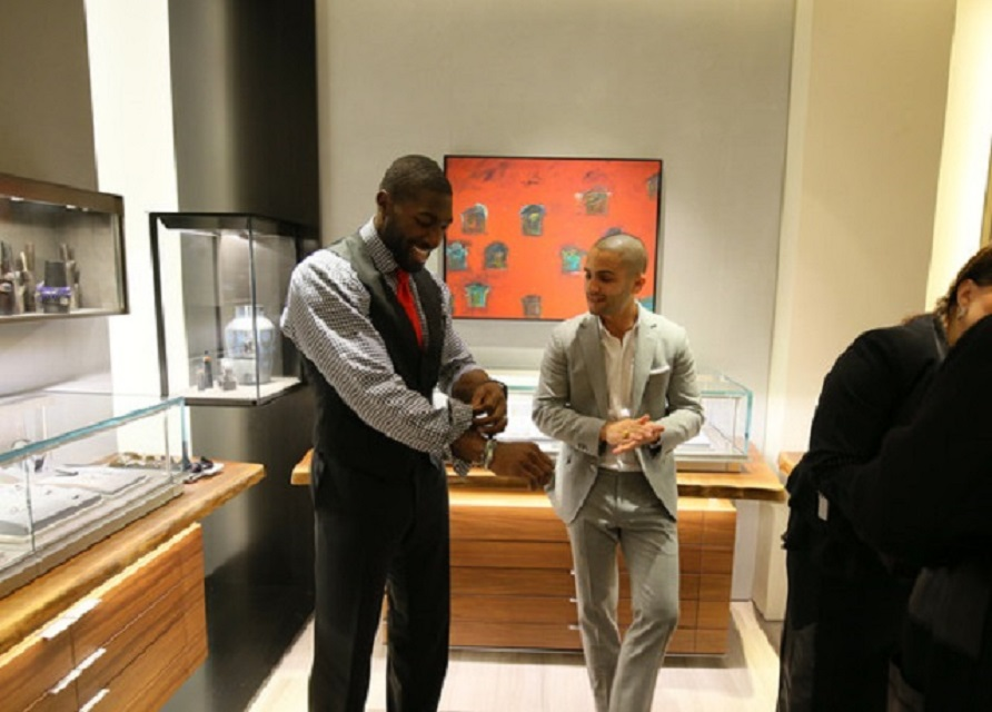NFL Greg Jennings Hosts David Yurman In-Store Shopping Event