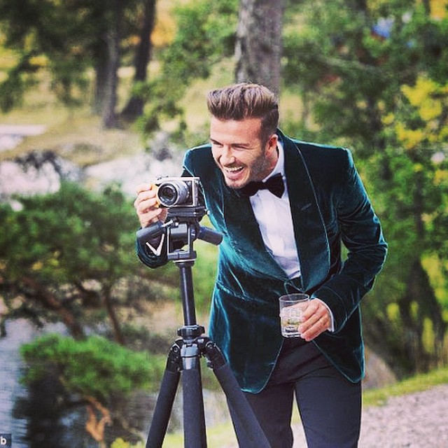 VIDEO: David Beckham Stars In Haig Club Whiskey Advertisment Spot
