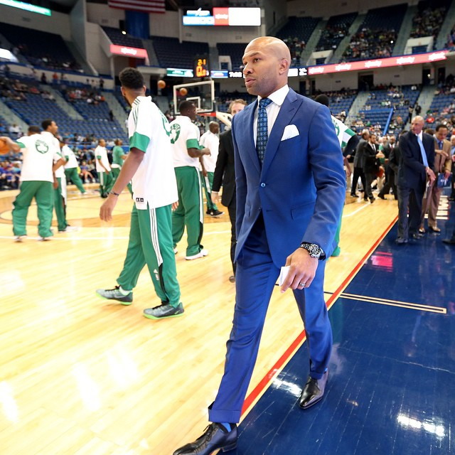 STYLE: Derek Fisher, Best-Dressed NBA Coach This Season?