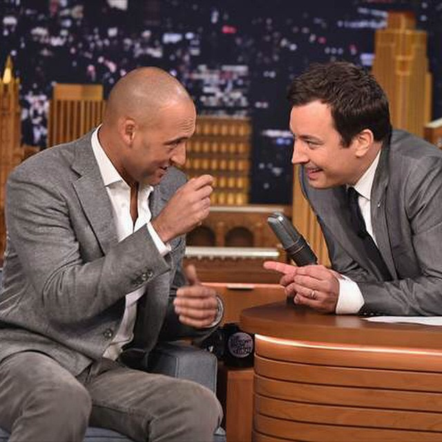 Derek Jeter Visits The Tonight Show Starring Jimmy Fallon, Talks 20-year Career, Final Home Game, And More