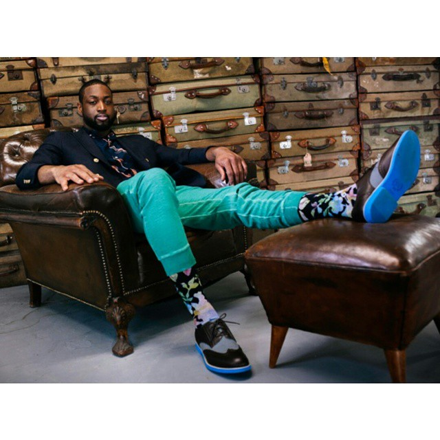 STYLE: NBA Dwyane Wade Introduces New Holiday 2014 Collection For Stance