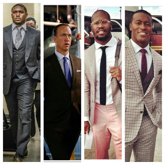 STYLE: NFL Reggie Bush, Peyton Manning, Vonn Miller, Demaryius Thomas & More