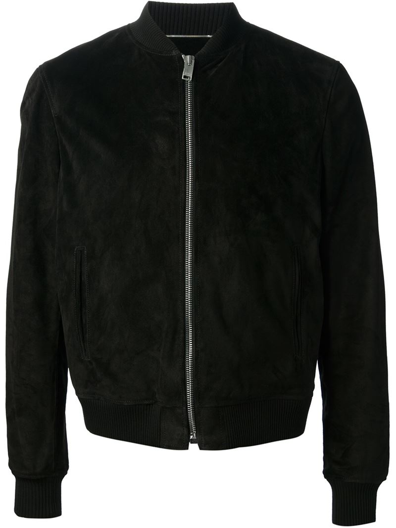 Saint-Laurent-suede-jacket