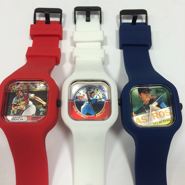 Hott Pick: Topps Launch Classic MLB Watch Collection