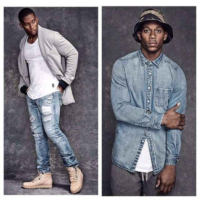 Victor Cruz Stars In Kith x Ones Stroke 2014 Fall 'Genesis' Collection Lookbook