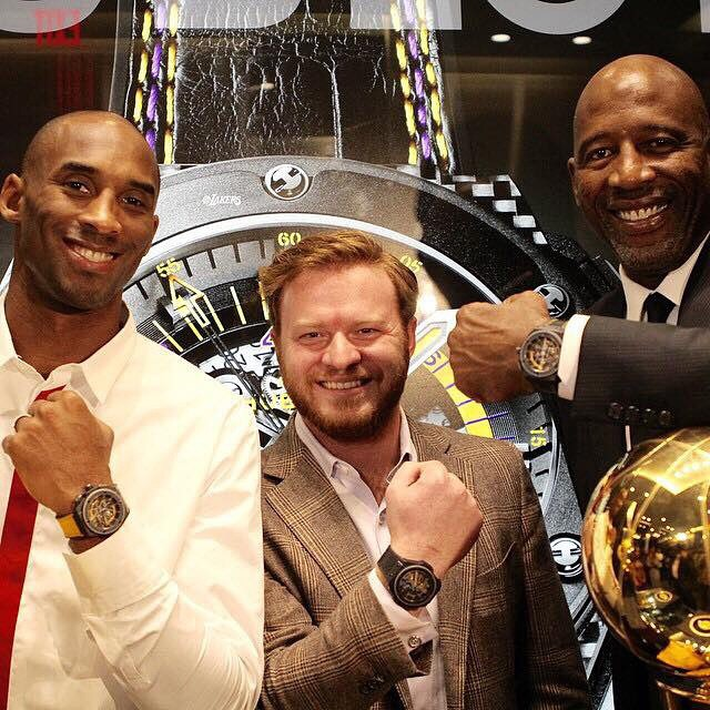 Kobe Bryant and Hublot Unveil King Power 'Los Angeles Lakers' Watch