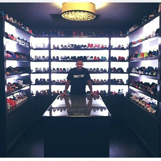 STYLE: NFL Star Victor Cruz's Unbelievable Sneaker Closet