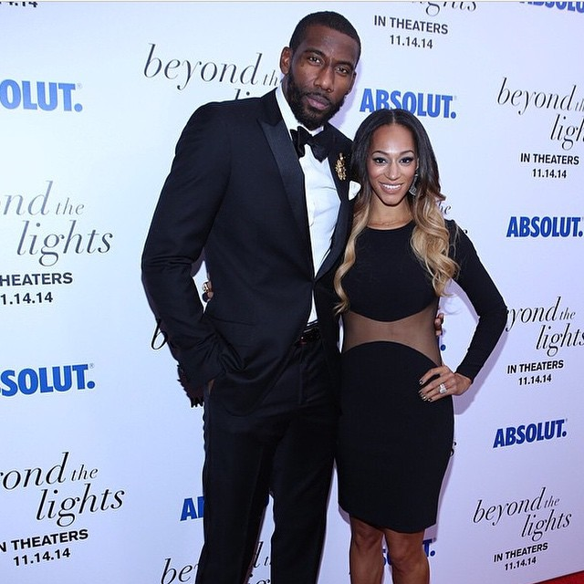 "NBA Amar'e Stoudemire Attends ""Beyond The Lights"" NYC Premiere, Film He Produced."