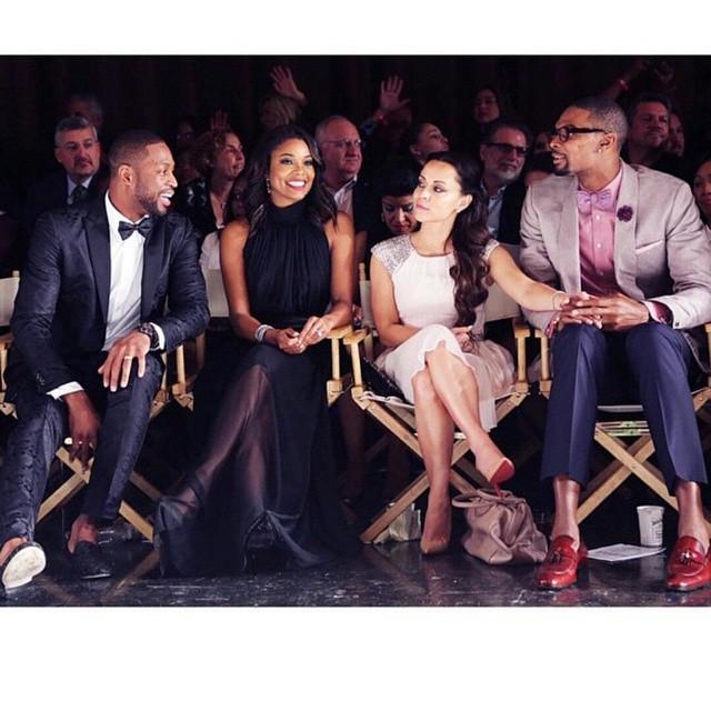 NBA star Dwyane Wade Hosts Annual Night On The RunWade Fashion Show.