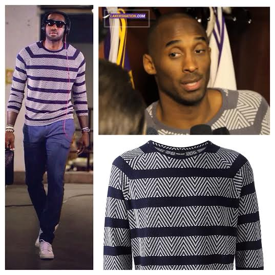 STYLE: 3 Occasions Kobe Bryant And Lebron James Wore The Same Designer Shirt