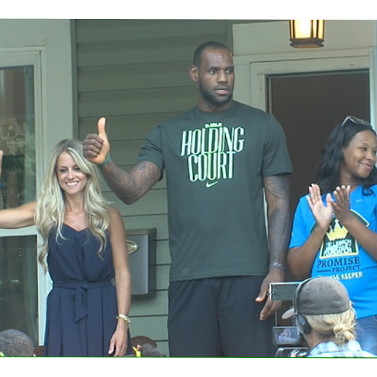 Lebron James Appears On HGTV's 'Rehab Addict' Tonight, Remodels Home Of Akron Family
