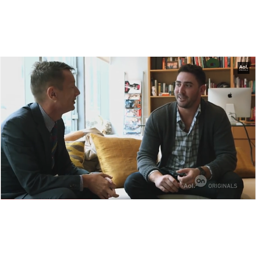 VIDEO: MLB Matt Harvey Talks Style, Sports, & More With GQ Mag's Jim Nelson For Aol's WIN/WIN Series