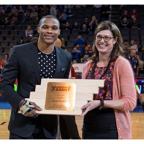 NBA Star Russell Westbrook's Why Not? Foundation Doesn't Go Unnoticed