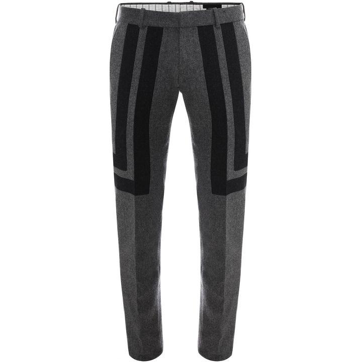 Alexander-mcqueen-geometric-flannel-suit-pants