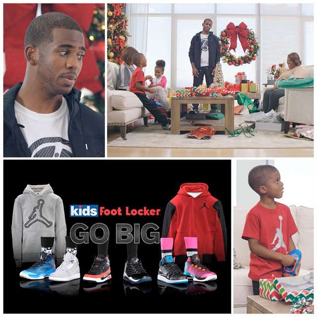 VIDEO: NBA Chris Paul Reflects On Childhood in New Kids Foot Locker Holiday 2014 Spot