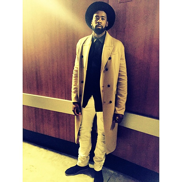 Deandre-Jordan-christmas-day-2014-burberry-wool-coat