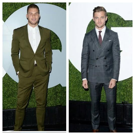 STYLE: NBA Blake Griffin And MLS Robbie Rodgers Attend 2014 GQ Men Of The Year Party