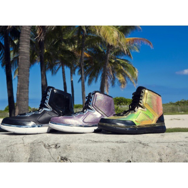 STYLE: NBA Dwyane Wade Launches His 'Third Element' Shoe Collection During Art Basel 2014 In Miami
