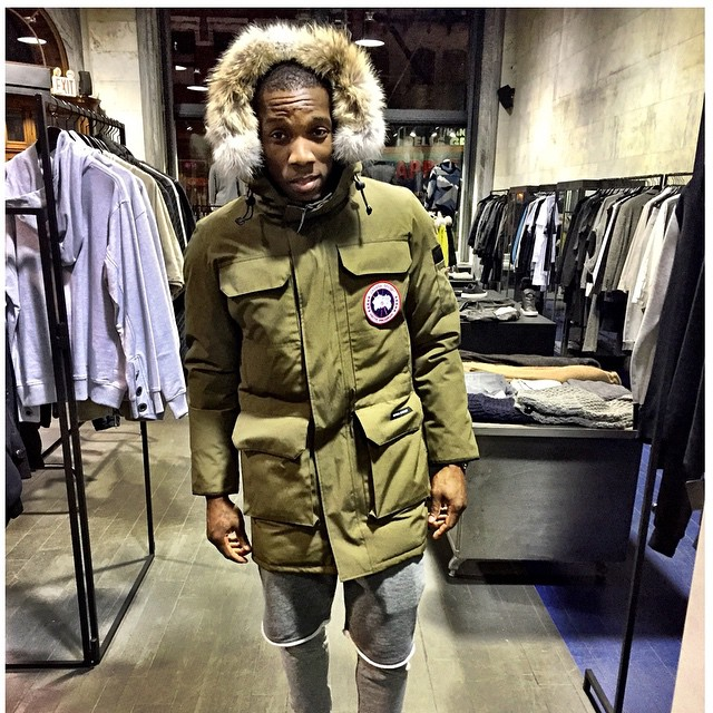 STYLE: NBA Eric Bledsoe Wearing Canada Goose Parka