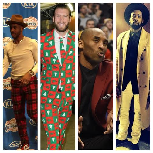 NBA Christmas STYLE: Chris Paul, Spencer Hawes, Kobe Bryant, And More