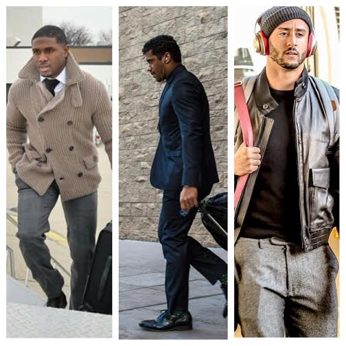 STYLE: NFL Reggie Bush, Russell Wilson, Colin Kaepernick And More